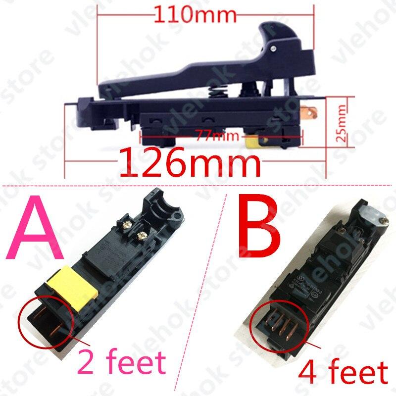 Switch Replace For MAKITA 180 230 GA9030 GA9020 GA7030 GA7020 9069 9067 9059 9049 9047 9016B 9015B G18SE3 Angle Grinder Part