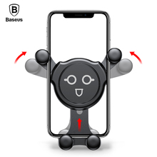 Baseus Universal Car Phone Holder For iPhone X 8 7 Gravity Air Vent  Samsung Xiaomi HuaWei Smartphone Stand