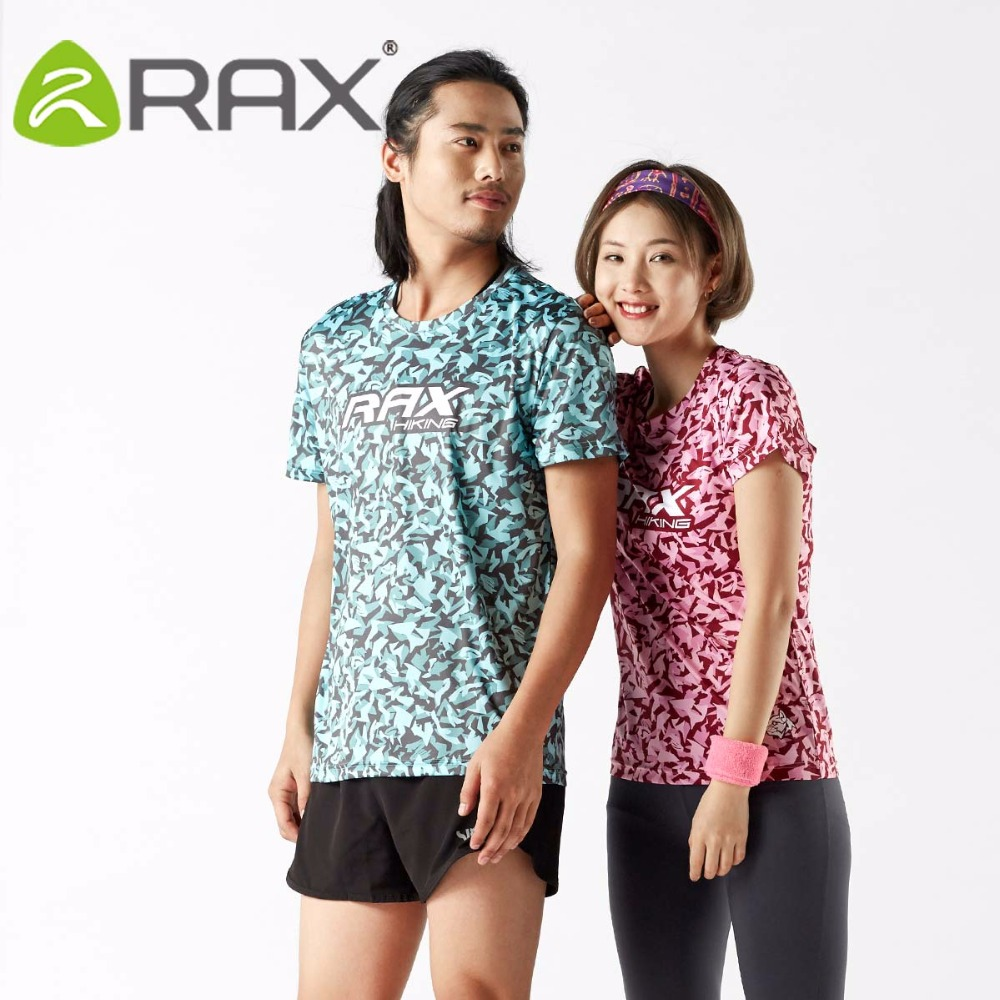 RAX Mens Sports Short Tees Cooling Material T-shirts Outdoor Sports Quick Dry Men Tees 72-2N105