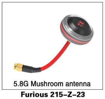 Original Walkera Furious 250 piezas de repuesto Furious 215-Z-23 5,8G antena de hongo para Furious 215 Dron de carreras con visión en primera persona