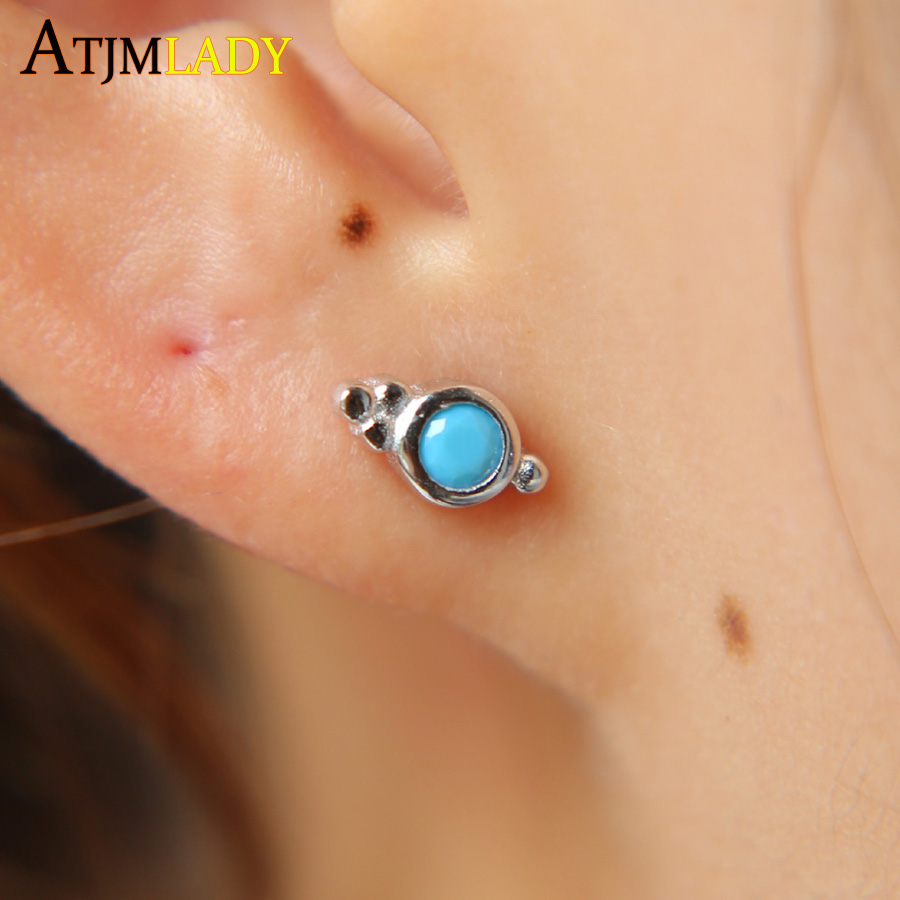 Crystal Nose Stud Gold Nose Stud Zircone Cubique Indian Nose Stud Orange Pierre Piercing au nez