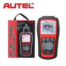 Original Autel AutoLink AL619 OBDII CAN ABS and SRS Scan Tool AL619 AL 619 Professional Diagnostic