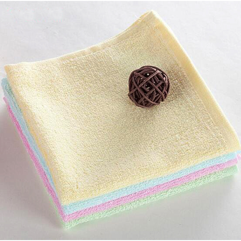 soft feeling eco-friendly baby bamboo face towel free of shipping