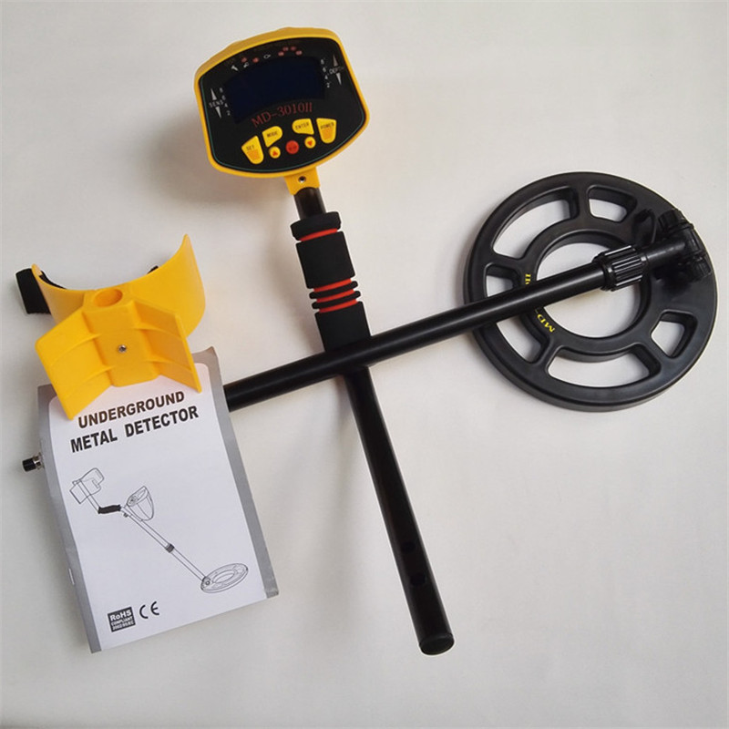 Lowest Price Hot MD-3010II Underground Metal Detector Gold Digger Treasure Hunter MD3010II Ground Metal Detector Treasure Seeker md 3010ii underground metal detector gold digger md3010ii treasure hunter