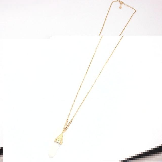 Купить chicvie винтажное золотое ожерелье на свитер для женщин длинные картинки