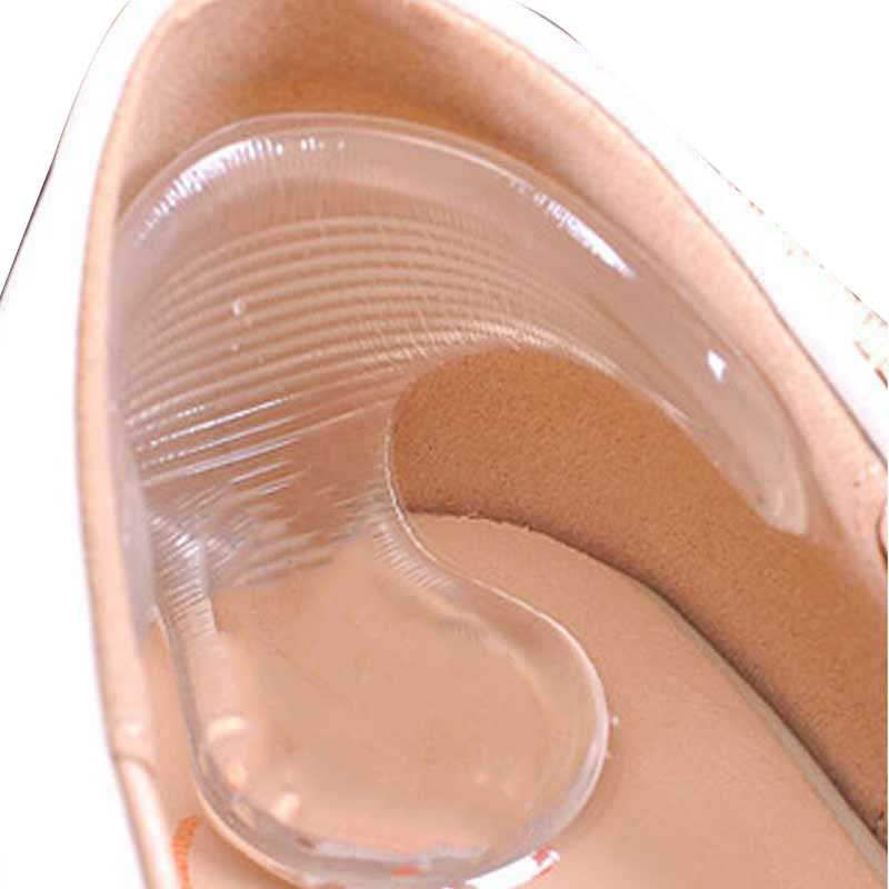 Fußpflege-utensil Schönheit & Gesundheit 2 Stücke = 1 Paar Silikon Einlegesohlen Für Schuhe Hohe Ferse Gel Pad Protector Für Heels Reiben Füße Pflege Pediküre Gerät Massage Gel Einlegesohle