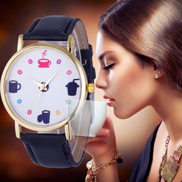 Relogio Feminino Luxo 2019 Women Watch Brand Fashion Dress cartoon Ladies Watches Leather Women Analog Quartz Wristwatch 30Q