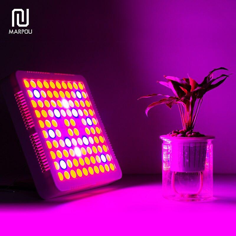 LED élèvent la lumière 50 W 250 LED S AC85-265V d'éclairage complet d'usine de spectre Fitolampy pour la culture hydroponique d'intérieur de plante de serre