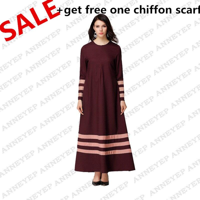 294fa76721 Special Offer 2017 Latest muslim women dress long cotton abaya dress ...