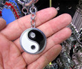 A K090 alloy Chi Yin and Yang keychain enamel keychain wholesale
