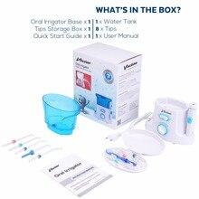 Vaclav Water Flosser Oral Dental Irrigator Water Jet Water Floss Irrigator Dental Floss Pick Oral Irrigation Water Dental Pick