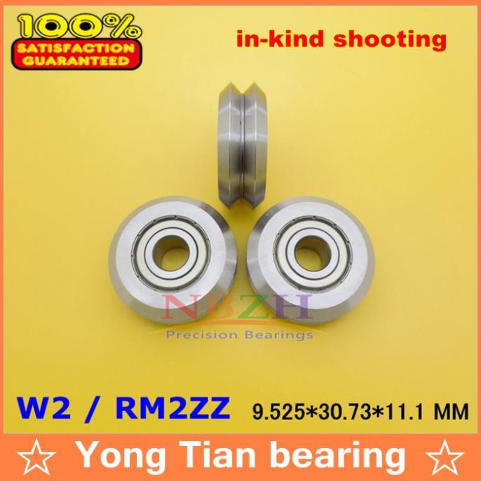 1pcs RM2ZZ / W2 9.525*30.73*11.1 mm v wheeles W Groove Sealed Ball Bearing msd3463gu w2