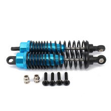 alloy aluminum shock absorber 100mm for rc car 1 10 buggy truck crawler oil adjustable upgraded