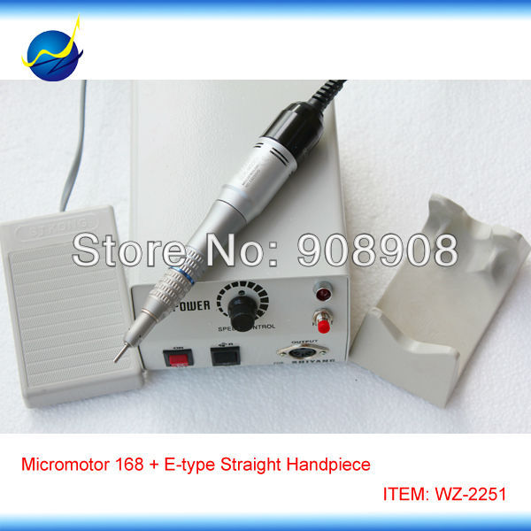 Marathon Micromotor Hand Grinder Polishing M33Es E-type Motors & Straight Head Dremel for Dental Lab, Hobby, Podology, Nail File 1pc white or green polishing paste wax polishing compounds for high lustre finishing on steels hard metals durale quality