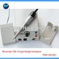 Marathon Micromotor Hand Grinder Polishing M33Es E type Motors & Straight Head Dremel for Dental Lab, Hobby, Podology, Nail File