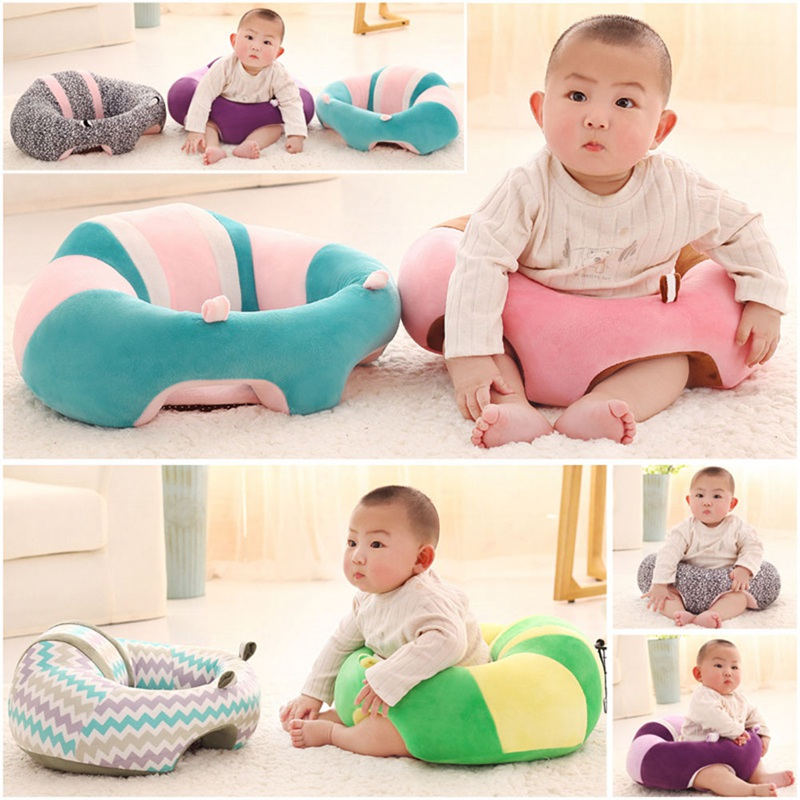 High Quality Nursing Pillow U Shaped Cuddle Baby Seat Infant Safe Dining Chair Cushion Patchwork Warm Elasticity Soft Cotton Pad