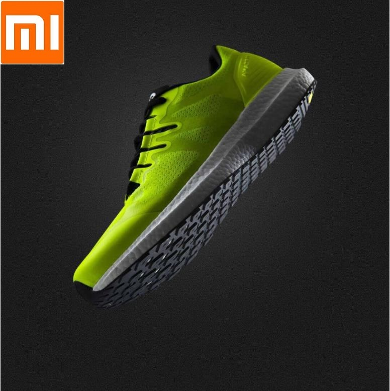 Xiaomi AMAZFIT Marathon Training Light RunningShoes Slow cushioning Grip wear Sneakers men women Sports outdoor Shoes