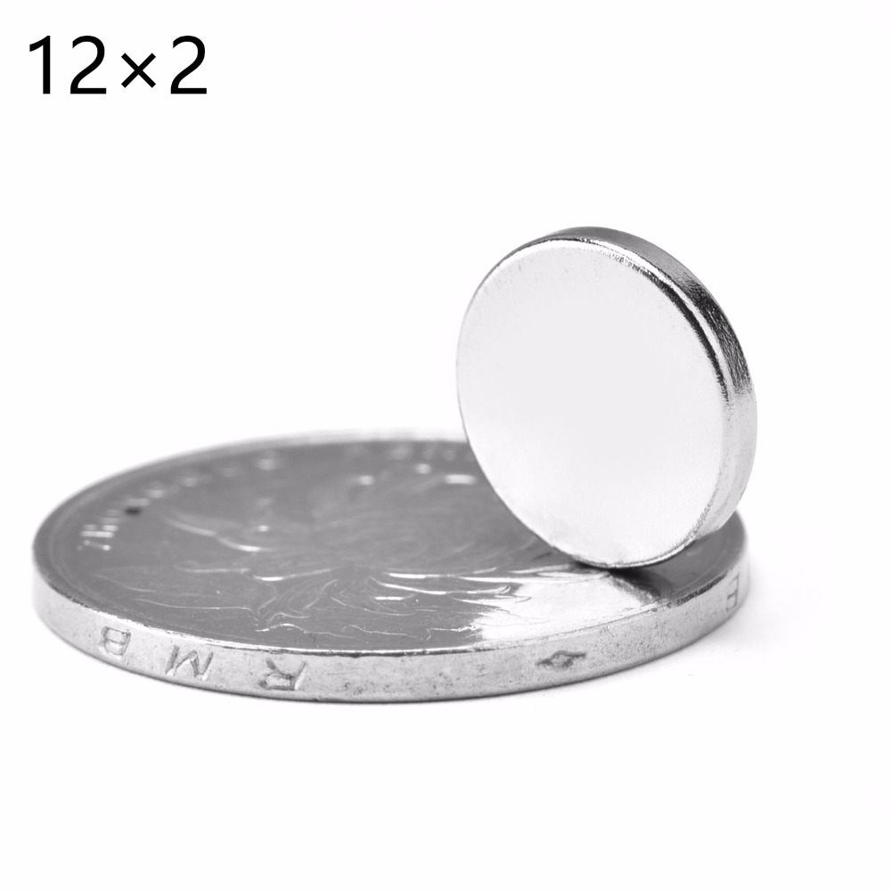 20Pcs/lot N52 12*2mm Strong Ndfeb Magnets Bulk Super Round Disc Rare Earth Neodymium Magnet 12mm x 2mm цена