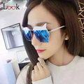 Fashion Ladies Luxury Steampunk Oversized Sunglasses Goggles Men Designer Brand Mirror Vintage Polygon Sun Glasses For Women