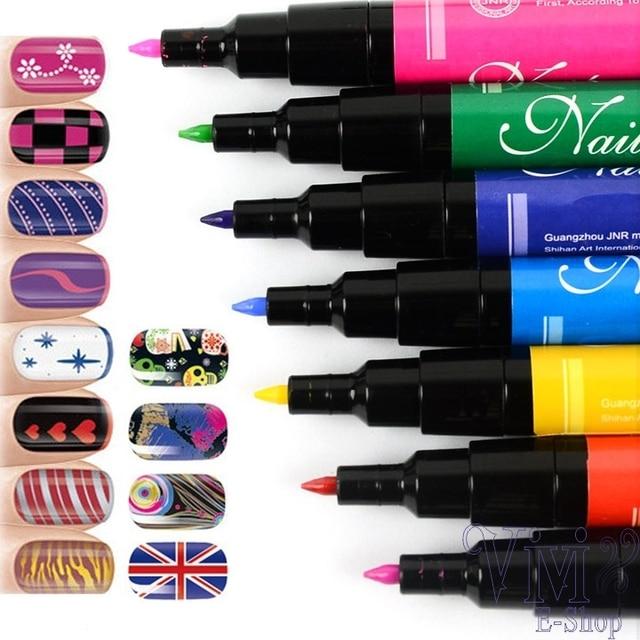 Nail Art Pen Painting Pens Beautiful Nails Drawing Tools Nail Polish ...