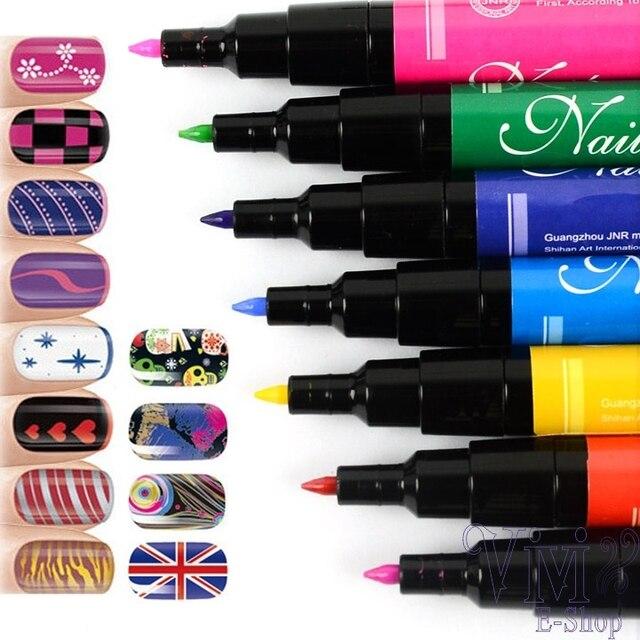 Nail Art Pen Painting Pens Beautiful Nails Drawing Tools Polish Paint Pencil Manicures