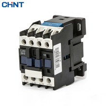 CHINT 9A Switches AC Contactor Voltage Cjx2-0910 0901 Single-phase 220V Three-phase 380V 110V 36V 24V cjx2 3210 ac contactor 32a 35mm din rail 50 60hz 3p 1no 380v 220v 110v 36v 24v coil volt contactor