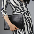 New Multi color Large Fold Over Clutch Leatherette Handbag Envelop IT BAG celebrity love