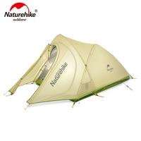 Naturehike 巻雲超軽量テント 2 人 20D ナイロンシリコン被覆キャンプテント送料無料でマット NH17T0071 T|テント|   -