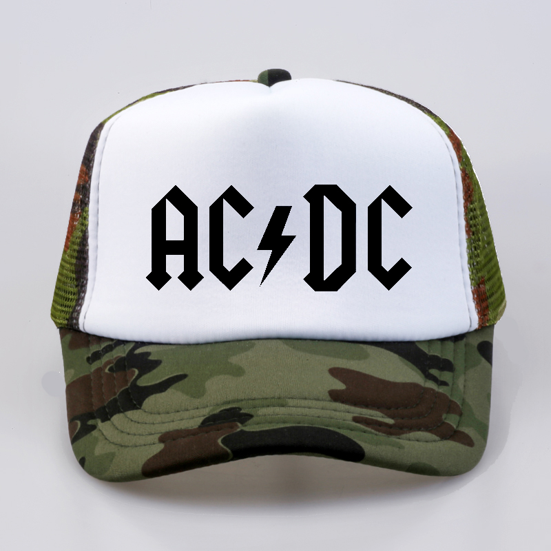 49ffb89be78 Men Women Cool Baseball caps ACDC Band Rock Fans Cap AC DC Rock Band Caps AC  DC Heavy Metal Rock Music Fans Cap Hat-in Baseball Caps from Apparel ...