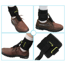 Universal Adjustable Ankle Foot Orthosis Drop Brace Bandage Strap for Plantar Fasciitis All shipping