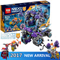 291pcs lele sy Lepin 14028 Nexus Knights Building Blocks set The Three Brothers Kids gift brick toy compatible with legod 70350