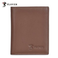 Men Brand Design Wear Resistant High Grade Cow Genuine Leather Quality Guarantee Vertical Type Wallet With