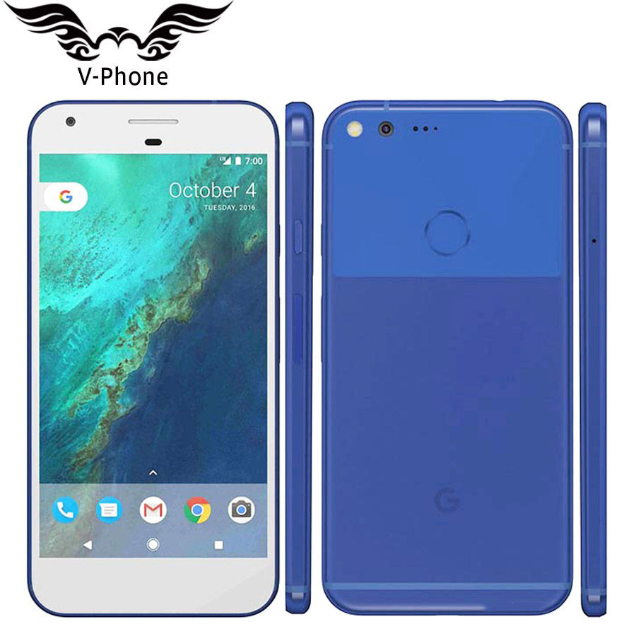 D'origine New UE Version Google Pixel XL 32 GB 128 GB GSM téléphone portable 5.5 ''Snapdragon Quad Core 4 GB RAM D'empreintes Digitales Android Téléphone