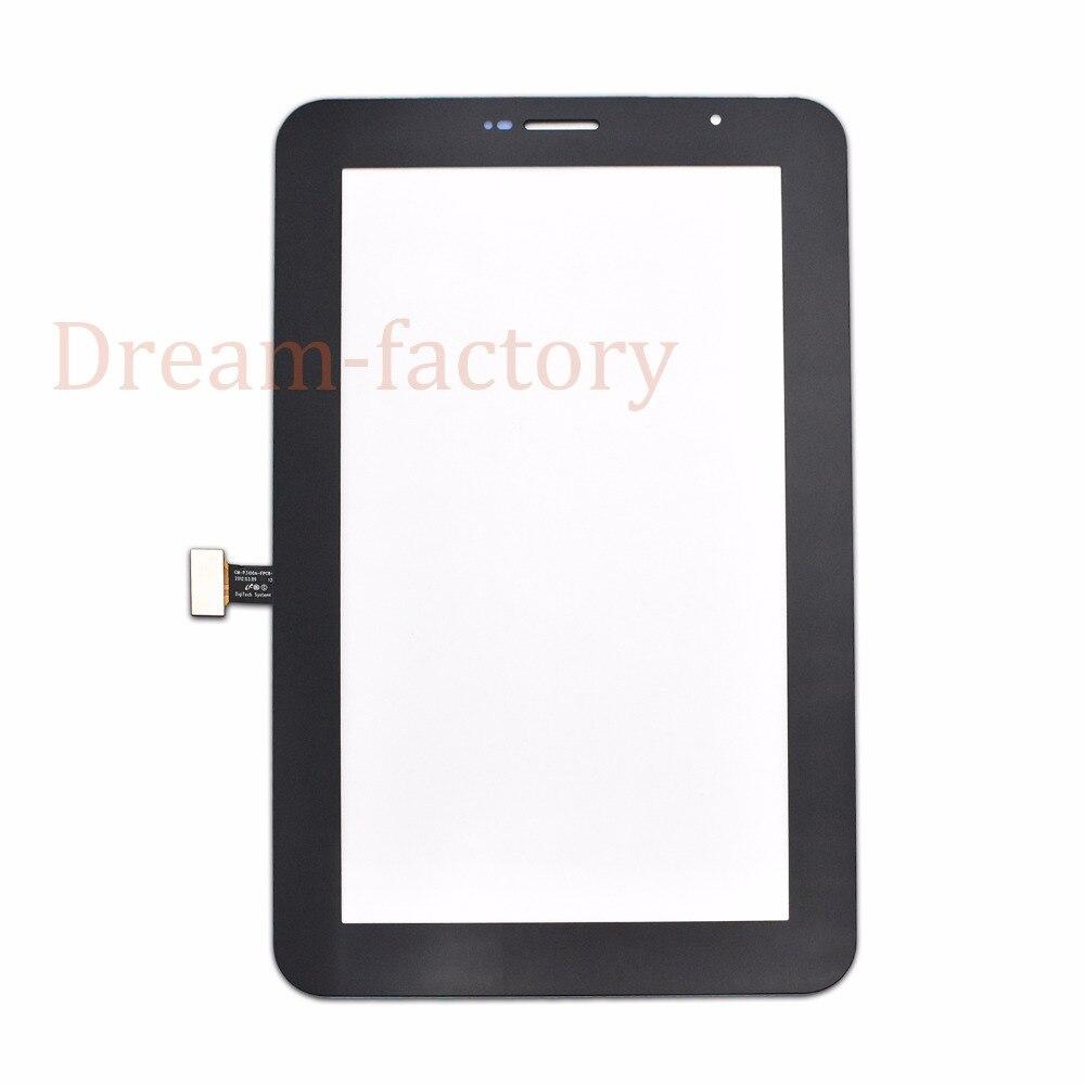 20 шт. Сенсорный экран планшета Стекло объектив с губкой для Samsung Tab 2 7.0 P3100 P3110 Бесплатная DHL