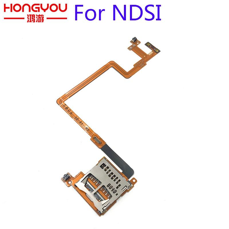 5Pcs FOR NINTENDO DSi NDSi SD Card Slot Cable SD CARD SLOT BUTTONS L / R TRIGGER VOLUME FLEX RIBBON