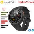 Freies Film Strap Englisch Xiaomi Huami AMAZFIT Rande 3 Smart Uhr GPS + Glonass IP68 Wasserdichte Multi-Sport Smartwatch antwort Anruf