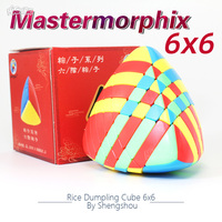 Shengshou 6x6x6 Mastermorphix 6x6 Cube Stickerless Rice Dumpling Magic Cube Puzzle Kids Toy Special Shap Cubo