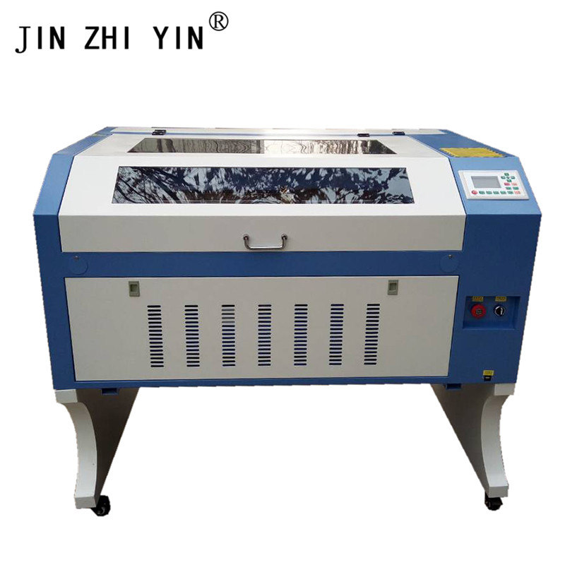Laser Engraver 100W W2 Reci Ruida 6442S Support Multiple Languages 6090 Co2 Laser Engraving Cutting Machine