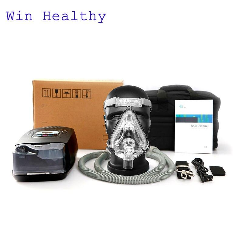 Win Healthy BMC GI Авто CPAP Машина умный дом вентилятор для сна Храп апноэ с любым типом маски