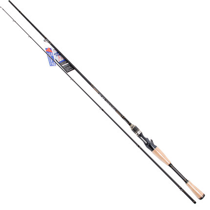 Trulinoya PROFLEX II Full Fuji 2.1 / 1.95 m aitcasting Lure Rod Bait Casting Caster M/ML Bass Pole fishing pole fishing tackle