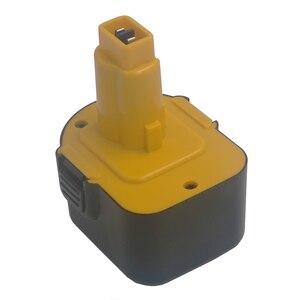 Image 1 - 2000 mAh 12V Ni CD Power Tool Batteria per Dewalt 152250 27 397745 01 DC9071 DE9037 DE9071 DE9074 DE9075 DE9501 DW9071 DW9072
