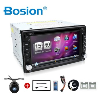 Wince 2 DIN Autoradio Car DVD GPS Player Double Radio Stereo In Dash MP3 Head Unit CD parking 2DIN HD TV Radio Video Audio image