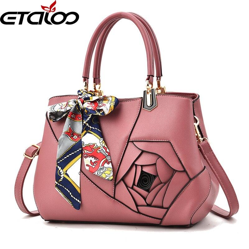 2018 new handbags Europe and the United States leisure bag trade handbag tide rose shoulder Messenger bag