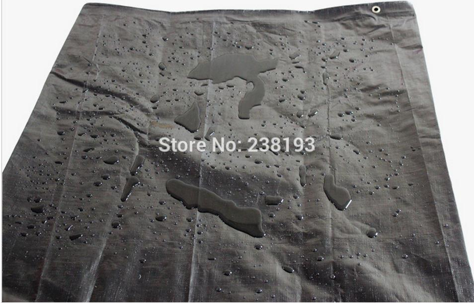 Custom size 3mx3m black waterproof canvas, black models waterproof, dustproof cloth. Cars, trucks waterproof cover cloth.-in Reflective Material from Security & Protection    1