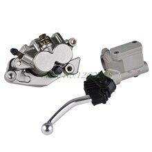 Discount! Front Master Cylinder Lever & Brake Caliper Pads For Honda XR250R XR400R XR600R XR650L XR650R ATV
