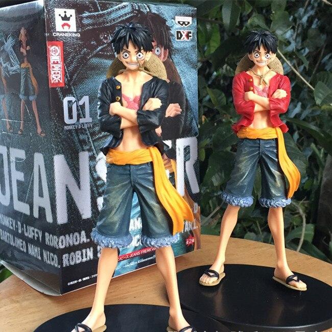 ФОТО SAINTGI One Piece  Monkey D Luffy New World Anime Figuarts Zero Action Figure PVC 17CM Boxed Kids Toys