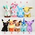 """Big Size 12"""" 30cm Pikachu Plush Toys Leafeon Espeon Umbreon Vaporeon Flareon Glaceon Jolteon Stuffed Dolls Free shipping"""