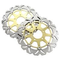 Мотоциклетные передние плавающие тормозные диски для тормозного диска для Suzuki SV650 SV650S GSX600F GSF650/GSF650S BANDIT GSX750F золото