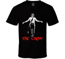 New Arrival Male Tees Casual Boy T Shirt Tops Discounts The Crow Brandon Lee Movie Classic Cult Film Fan T Shirt