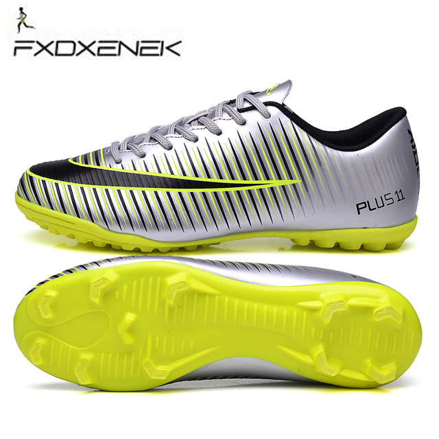 FXDXENEK Men Soccer Cleats TF Soccer Shoes Teenager Voetbal Training  Football Shoes Men Specialty Soccer Boots Crampons De Foot bc25c6e738fa7